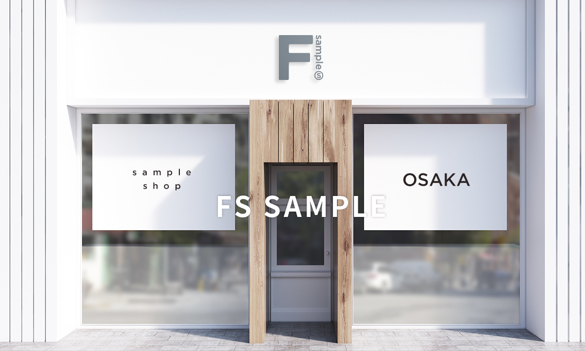 sample shop OSAKA